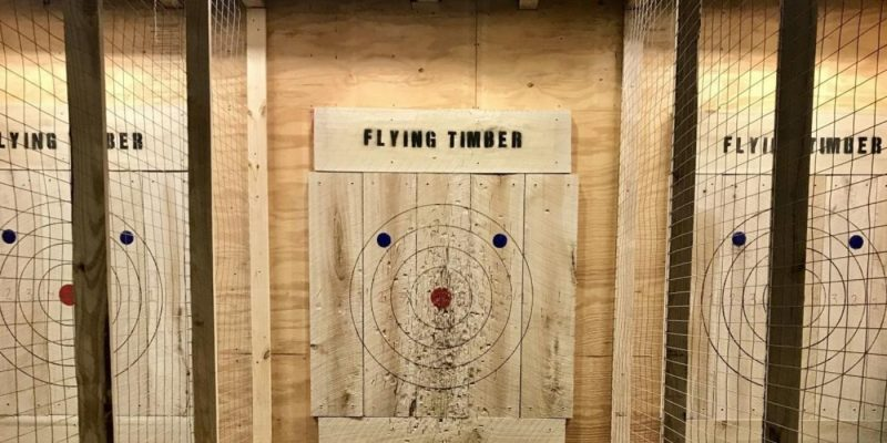 Virtual Reality and Axe Throwing Game Rooms Florida